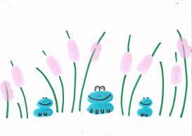 Nicole Finger Stamping Art - Froggie 230417